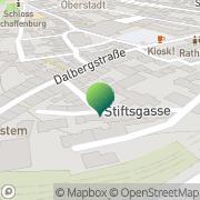 Karte Gestalt-Institut Aschaffenburg e.V. Aschaffenburg, Deutschland