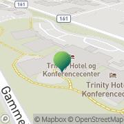 Kort Trinity Hotel og Konference Center A/S Fredericia, Danmark