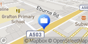 Map Nationwide Building Society Holloway, United Kingdom