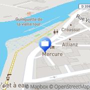 Carte de Mercure Libourne Saint Emilion Libourne, France