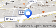 Map Yorkshire Building Society St. Neots, United Kingdom