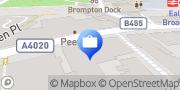 Map Nationwide Building Society West Ealing, United Kingdom