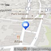 Carte de BANQUE DE FRANCE Mont-de-Marsan, France