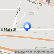 Map Walz Financial Services Mandan, United States