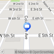 Map Colorado East Bank and Trust ATM La Junta, United States
