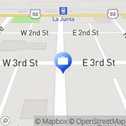 Map The Colorado Bank and Trust La Junta, United States