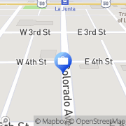 Map First National Bank La Junta, United States