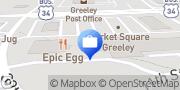 Map Edward Jones - Financial Advisor: Andrew Thiel Greeley, United States