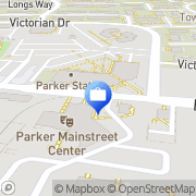 Map Compass Bank Parker, United States