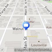 Map Edward Jones - Financial Advisor: Jay Turner Louisville, United States