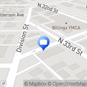 Map Billings Downtown Ins Office Billings, United States