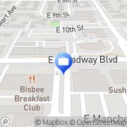 Map San Xavier Mexico Insurance Tucson, United States