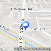 Map Dolex Dollar Express Phoenix, United States