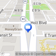 Map MS Management - ATM Ontario, United States