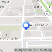Map Motran Services Ontario, United States