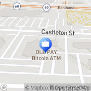 Map Bitcoin of America - Bitcoin ATM Industry, United States