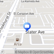 Map Wachovia Fountain Valley, United States