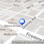 Map Skyline Home Loans Downey, United States