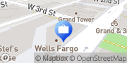 Map Wells Fargo Bank Los Angeles, United States