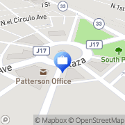 Map ATM Patterson, United States
