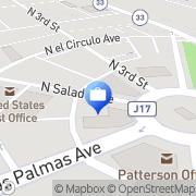 Map United California Bank Patterson, United States
