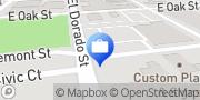 Map Fast Money Car Title Loans Stockton, United States