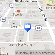 Map AFLAC Bend, United States