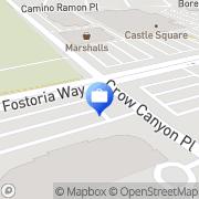 Map Woodbury Financial Services San Ramon, United States