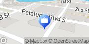 Map Bank of the West Petaluma, United States
