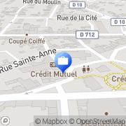 Carte de Crédit Mutuel de Bretagne Yffiniac, France