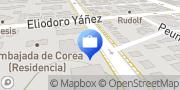 Map Cupodolares de Tarjeta de Credito Providencia, Chile