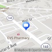 Map Foxborough Savings Bank Foxboro, United States
