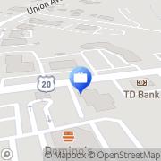 Map Marlborough Savings Bank Sudbury, United States
