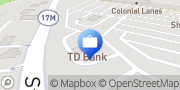 Map TD Bank Chester, United States