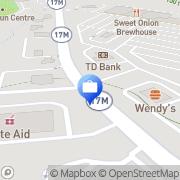 Map Hudson United Bank Chester, United States