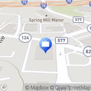 Map Fleet Bank Springfield, United States