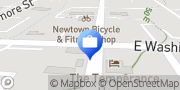 Map The Bill Mervin Team at Apex Home Loans Newtown, United States
