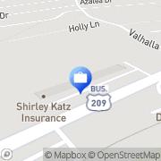 Map Shirley Katz Insurance East Stroudsburg, United States