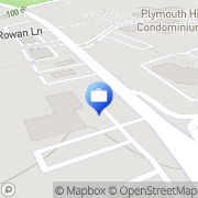 Map Wells Fargo Plymouth Meeting, United States