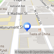 Map ATM Baltimore, United States