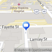 Map M and T Bank Baltimore, United States