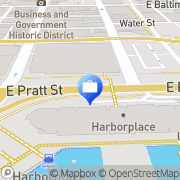 Map M and T Bank - Branches Baltimore, United States