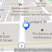 Map CIBC World Markets Baltimore, United States