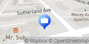 Map TD Canada Trust Branch and ATM East York, Canada