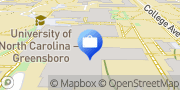 Map CashPoints® ATM Greensboro, United States