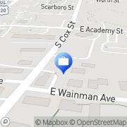 Map Edward Jones - Financial Advisor: Erica D Hayes Asheboro, United States