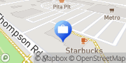 Map TD Canada Trust Branch and ATM Milton, Canada