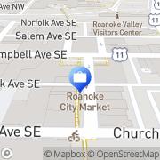 Map Richard LaRose - Ameriprise Financial Services, Inc. Roanoke, United States