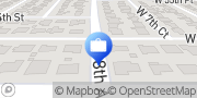 Map CashLoansNearby Florida Palm Springs, United States