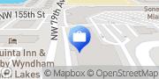 Map Chase Bank Miami Lakes, United States